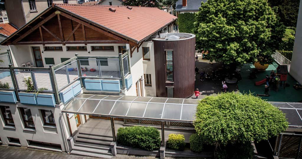 Bâtiment - École maternelle