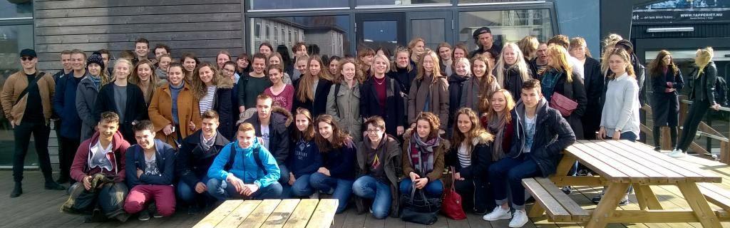 Voyage et échanges entre les élèves avec le lycée de Køge au Danemark