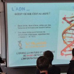 Intervention sur les Thérapies Géniques et Cellulaires en 1ère Scientifique