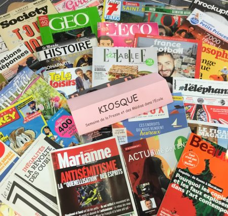Semaine de la Presse et des Médias dans l'Ecole