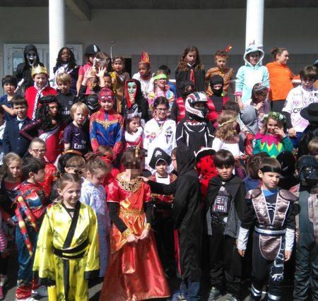Carnaval à l'école