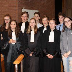 Des élèves au cœur de la justice
