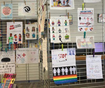 Expo discriminations Sainte-Thècle