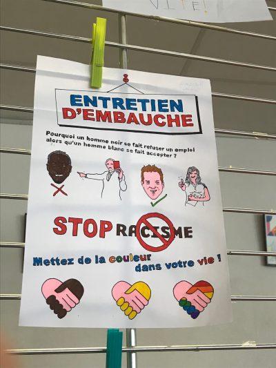 5ème Volvic discriminations Sainte-Thècle