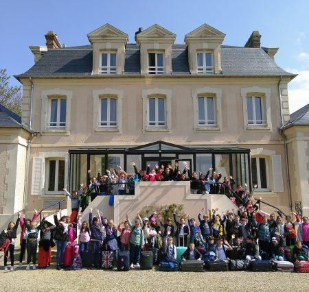 Classe de découverte en Normandie pour les CM2