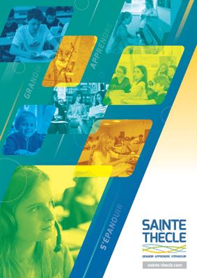 Plaquette Sainte-Thècle 2019