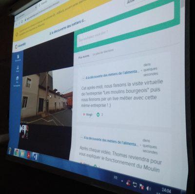 Semaine virtuelle Métiers 3ème Sainte-Thècle