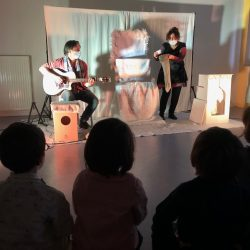 Spectacle musical en Maternelle