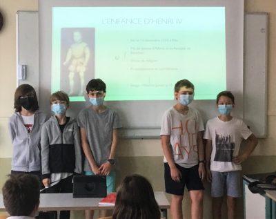 Oral Cinquième Histoire Sainte-Thècle
